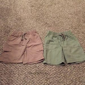 Pair of Jumping Beans Boys Cargo Shorts